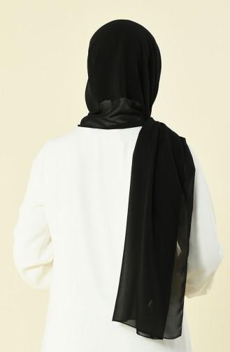 شال شيفون أسود 901537-01