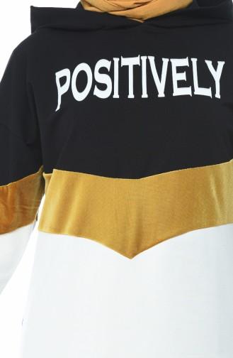 قميص رياضي أسود 19086-01