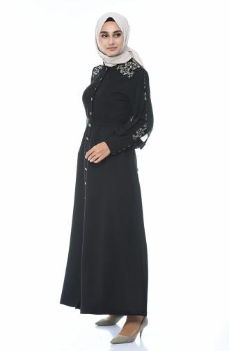 فستان أسود 9437-01