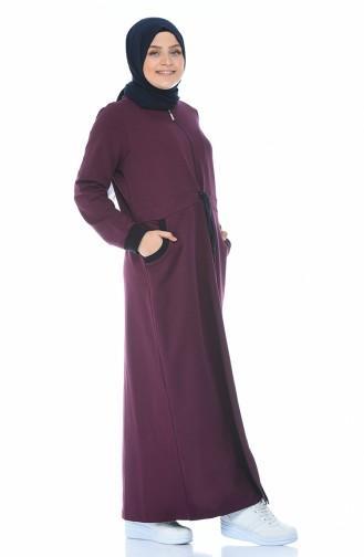 Damson Abaya 10011-03