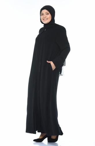 عباءه أسود 8376-03