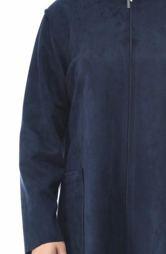 Navy Blue Topcoat 0273-01