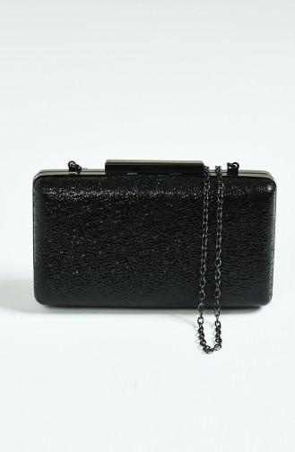 Schwarz Portfolio Handtasche 0250-04