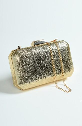 Goldfarbig Portfolio Handtasche 0277-06
