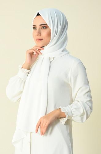 Karaca Châle Saphir 90593-19 Blanc 90593-19