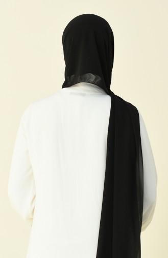 Karaca Düz Krep Şal 90594-26 Siyah 90594-26