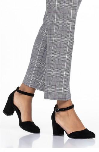أحذية الكعب العالي أسود 11262-01