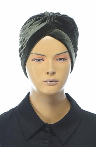 Bonnet Velours 0038-14 Khaki 0038-14