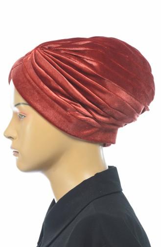 Bonnet Velours 0038-16 Brique 0038-16