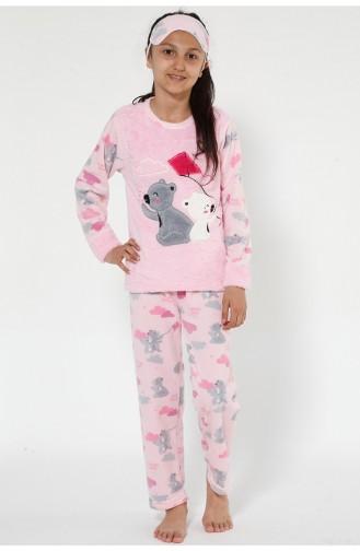 Kinder Welsoft Pyjama Set  4523-01 Pink 4523-01