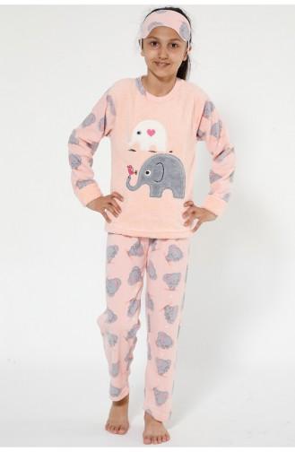 Welsoft Pyjama Enfant 4526-01 Rose 4526-01