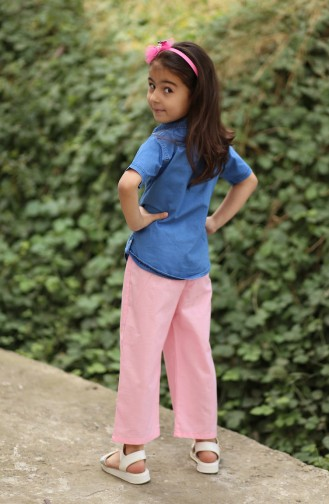 Pink Baby and Kids Pants 25080-03