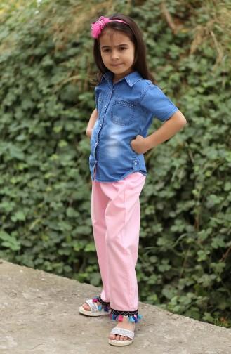 Pink Kinder en Babybroeken 25082-01