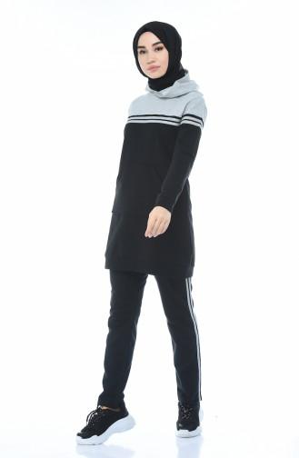 Gray Sweatsuit 1056-02