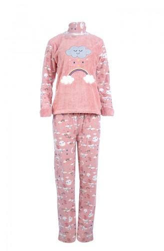Ensemble Pyjama Pour Femme 8036 Poudre 8036
