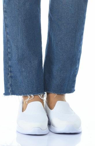 Pasomia Bayan Spor Ayakkabı 1017-06 Beyaz