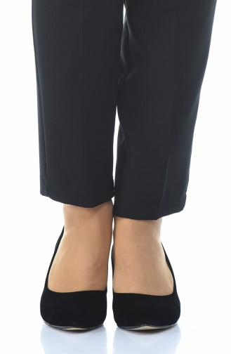 أحذية الكعب العالي أسود 0010K-02