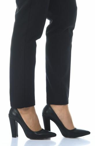 Chaussures a Talons Pour Femme 0030K-01 Noir Clt 0030K-01
