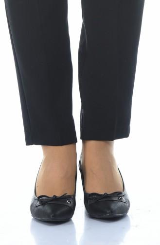أحذية الكعب العالي أسود 0909K-01
