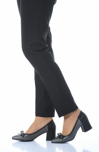 Chaussures a Talons 0909K-02 Platine Noir 0909K-02