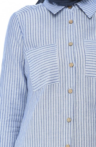 تونيك أزرق كحلي 1968-01