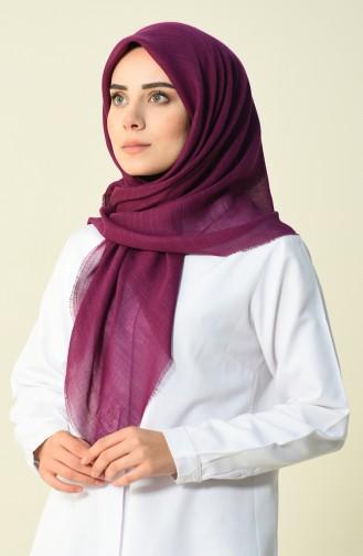 Echarpe Coton 50056-68 Violet Poudre 50056-68