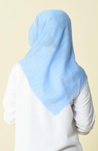 Echarpe Coton 50056-70 Bleu bébé 50056-70