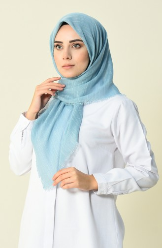 Cotton Scarf Mint Blue 50056-76