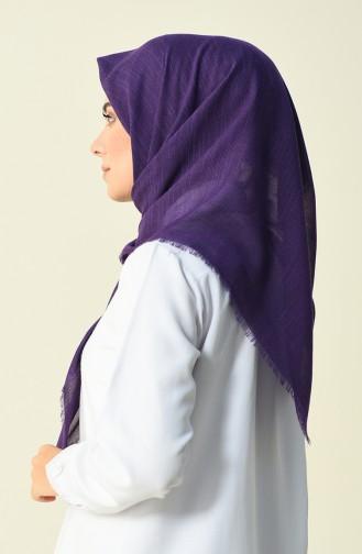 Purple Hoofddoek 01