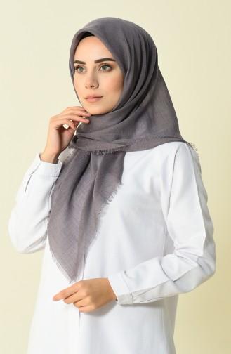Sökme Pamuk Eşarp 2144-55 Koyu Vizon 2144-55