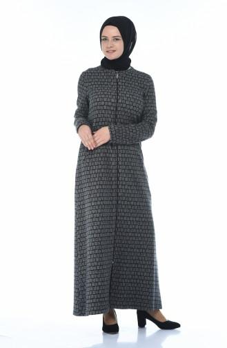 Gray Abaya 99220-01