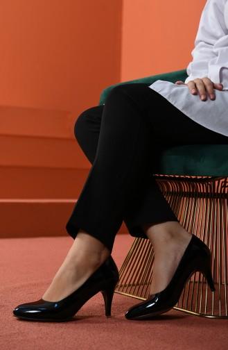 أحذية الكعب العالي أسود 1092-011
