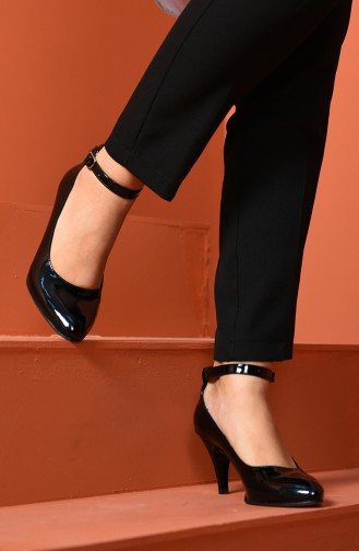 Black Heeled Shoes 1093-01