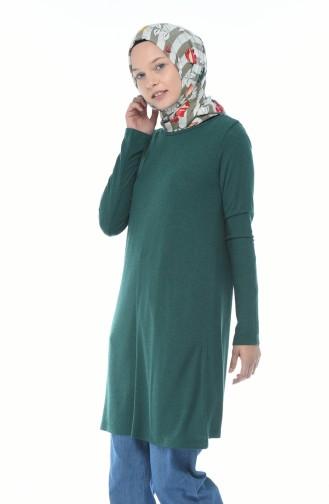 Basic Seasonal Tunic Emerald Color 2201-02
