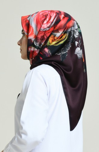 Aker S Rayon Scarf Claret Red 6715-769-941