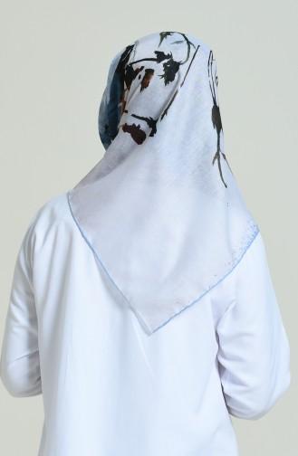 Duftende Kopftuch 2372-01 Blau 2372-01