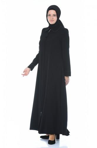 عباءه أسود 8375-02