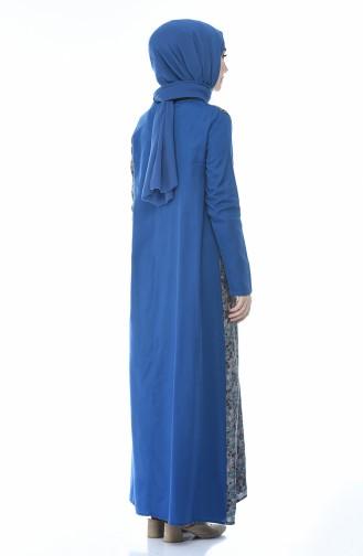 فستان أزرق غامق 0011F-01