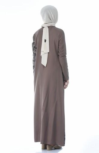 Garnili Elbise 0011G-01 Vizon
