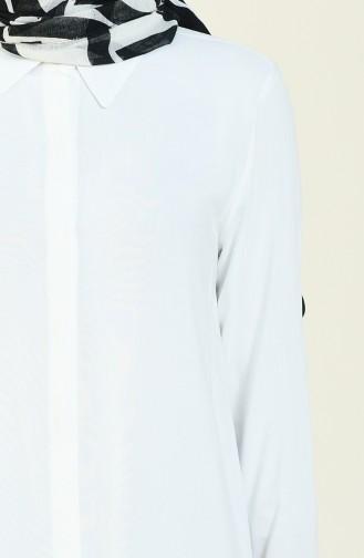 تونيك أبيض 5105-01