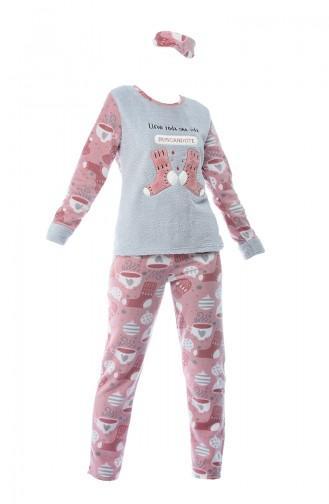 Gray Pyjama 8051-01