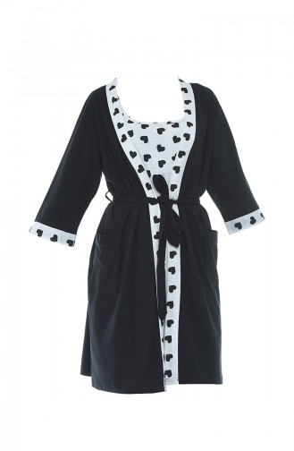 Schwarz Pyjama 812124