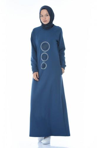 Indigo Dress 4080-03