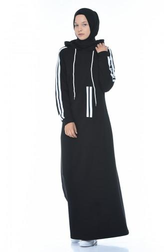 فستان أسود 4084-01
