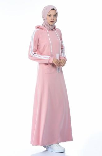 فستان باودر 4084-07