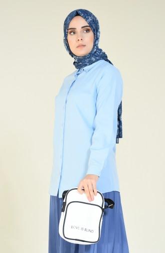 قميص أزرق 6386-02