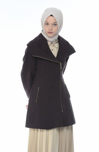 معطف طويل بُني 2001-01