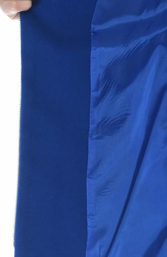 Saks-Blau Mantel 2001-02