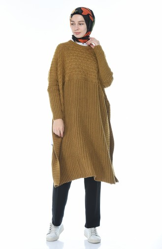 Poncho Tricot 1923-05 Moutarde 1923-05