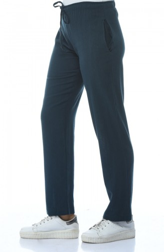 Pantalon Large 14001-07 Pétrol 14001-07